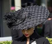 Princess Haya in Philip Treacy, June 16, 2015 | Royal Hats