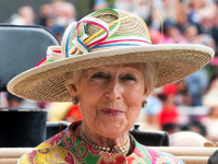 Princess Alexandra, June 17, 2015 in Rachel Trevor Morgan | Royal Hats