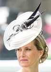 Countess of Wessex, June 16, 2015 in Jane Taylor and Emilia Wickstead| Royal Hats