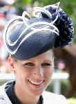 Zara Phillips Tindall, June 19, 2015 in Rosie Olivia | Royal Hats
