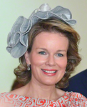 Queen Mathilde, June 22, 2015 in Fabienne Delvigne | Royal Hats
