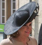 Grand Duchess Maria Teresa, June 23, 2015 in Philip Treacy | Royal Hats