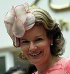 Queen Mathilde, June 26, 2015 in Fabienne Delvigne | Royal Hats