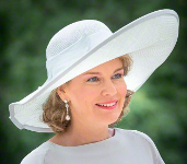 Queen Mathilde, July 21, 2015 in Fabienne Delvigne | Royal Hats