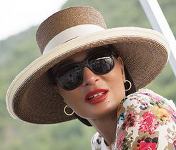 Sheikha Mozah, August 8, 2015 | Royal Hats
