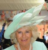 Duchess of Cornwall, August 15, 2015 in Philip Treacy | Royal Hats