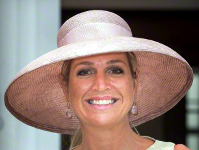 Queen Máxima, August 26, 2015 in Fabienne Delvigne | Royal Hats