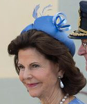 Queen Silvia, October 11, 2015 in Kerstin Carlefalk | Royal Hats