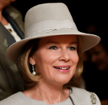 Queen Mathilde, October 14, 2015 | Royal Hats