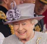 Queen Elizabeth, October 20, 2015 in Rachel Trevor Morgan | Royal Hats