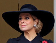 Queen Máxima, November 8, 2015 in Fabienne Delvigne | Royal Hats