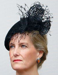 Countess of Wessex, November 8, 2015 in Jane Taylor Royal Hats