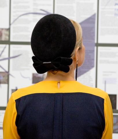 Queen Máxima, December 17, 2015 in Fabienne Delvigne | Royal Hats