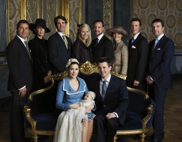 Royal Christening, January 21, 2006  Royal Hats