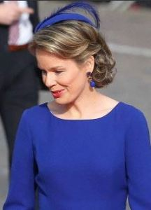 Queen Mathilde, March 30, 2014 | Royal Hats
