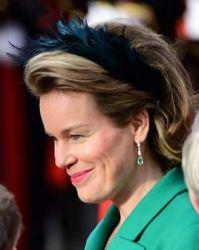 Queen Mathilde, Novemer 12, 2014 | Royal Hats