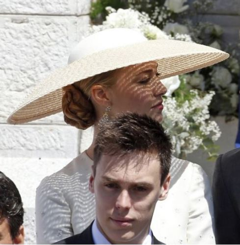 Beatrice Boromeo, May 10, 2015 | Royal Hats