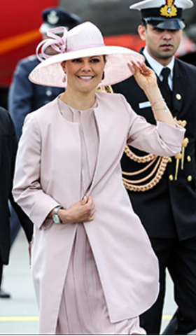 Crown Princess Victoria, May 31, 2015 in Philip Treacy | Royal Hats