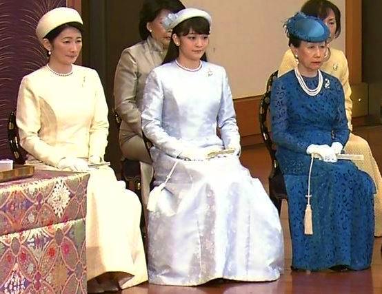 Princess Kiko, Princess Mako and Princess Hanako, January 15, 2016 | Royal Hats