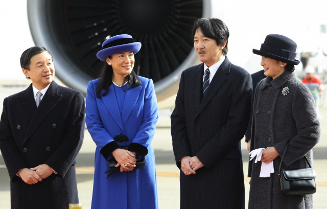 Princess Masako and Princess Kiko, January 26, 2016 | Royal Hats