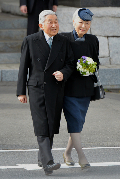Empress Michiko, January 26, 2016 | Royal Hats