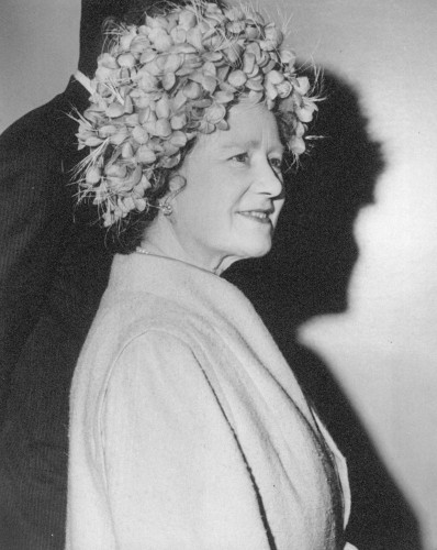 Queen Elizabeth, the Queen Mother, February 26, 1965 | Royal Hats