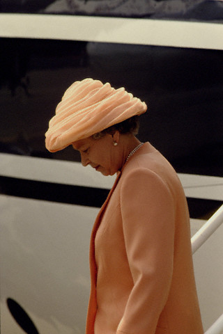 Visit of Queen Elizabeth II in France