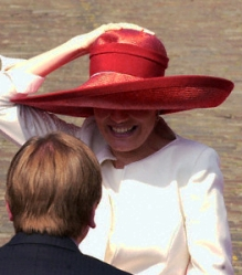 Princess Mathilde, May 8, 2001 | Royal Hats