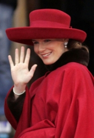 Princess Mathilde, January 21, 2006 | Royal Hats