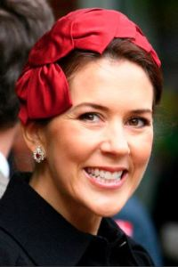 Crown Princess Mary, May 6, 2009 in Jill Courtemanche | Royal Hats
