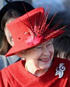 Queen Elizabeth, December 25, 2009 in Angela Kelly | Royal Hats
