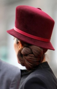 Crown Princess Mary, January 10, 2012 in Philip Treacy | Royal Hats