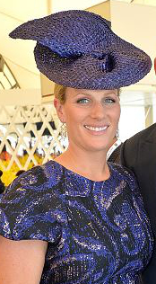 Zara Phillips Tindall, January 9, 2016 in Danica Erard | Royal Hats