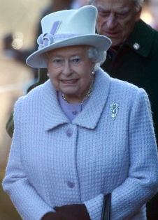 Queen Elizabeth, January 10, 2016 in Angela Kelly | Royal Hats