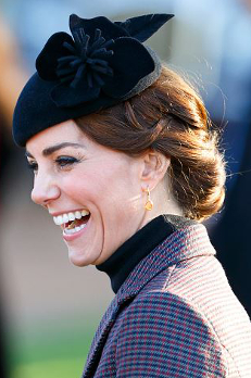 Duchess of Cambridge, January 10, 2015 in Silvia Fletcher for Lock & Co. | Royal Hats