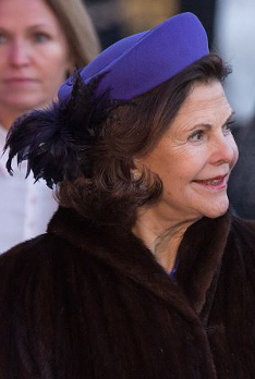 Queen Silvia, January 17, 2016 | Royal Hats