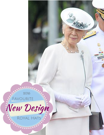 Empress Michiko, January 27, 2016 | Royal Hats