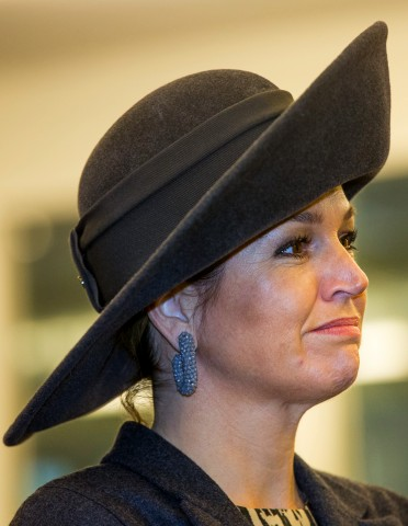 Queen Máxima, February 16 in Fabienne Delvigne | Royal Hats