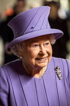 Queen Elizabeth, February 23, 2016 in Angela Kelly | Royal Hats
