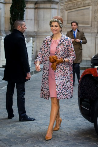 Queen Máxima, March 11, 2016 in Fabienne Delvigne | Royal Hats