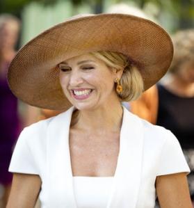 Queen Máxima, Sep 14, 2016 in Fabienne Delvigne | Royal Hats