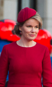 Queen Mathilde, March 10, 2016 | Royal Hats