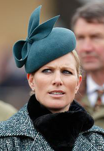 Zara Phillips Tindall, March 18, 2016 in Gina Foster | Royal Hats