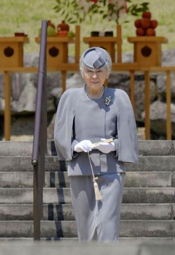 Empress Michiko, April 12, 2016 | Royal Hats