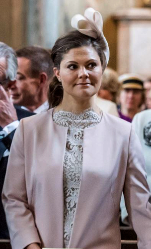 Crown Princess Victoria, April 22, 2016 | Royal Hats