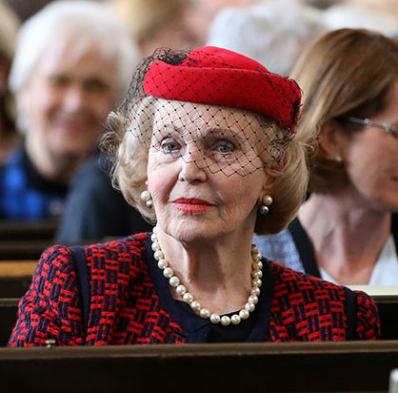 Countess Marianne Bernadotte, April 22, 2016 | Royal Hats
