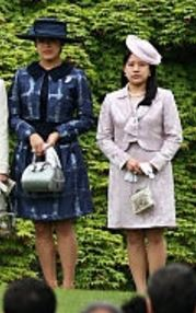 Princess Tsuguko and Princess Ayako, April 27, 2016 | Royal Hats