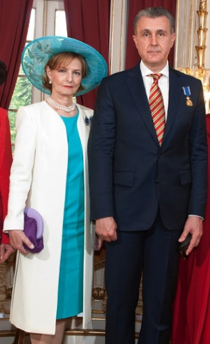 Crown Princess Margareta, May 10, 2016 in Kristina Dragomir | Royal Hats