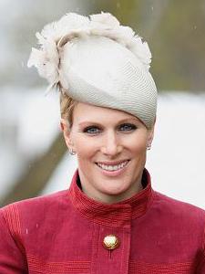 Zara Phillips Tindall, April 9, 2016 in Rosie Olivia | Royal Hats