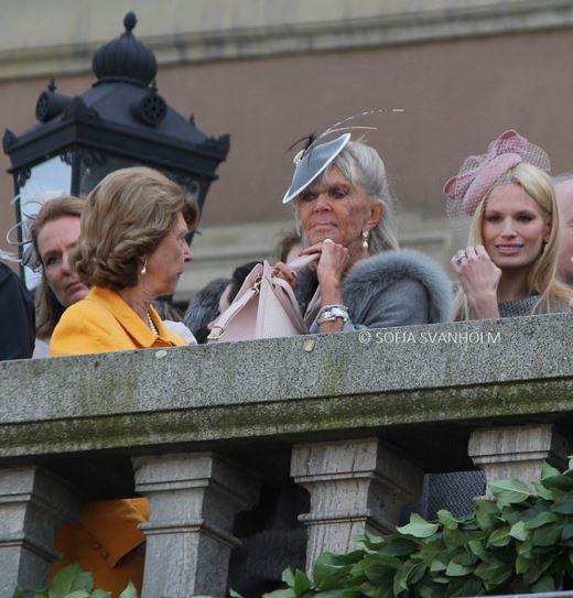 Princess Brigitte and Viky Magnuson, April 30, 2016 Photo taken by Sofia Svanholm | Royal Hats